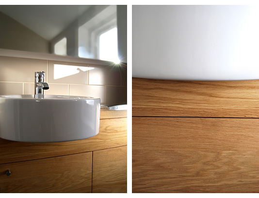 Formation of new modern bathrooms suites in Queens Park, Brighton.